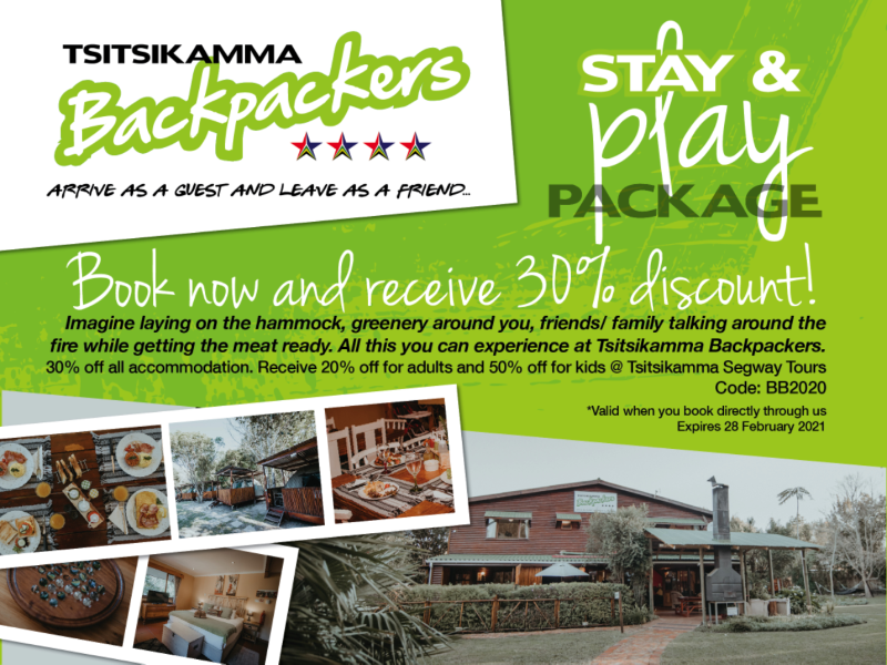 Stay & play package