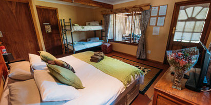 Tsitsikamma Backpackers Family Room